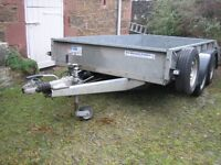 Ifor Williams twin axle trailer