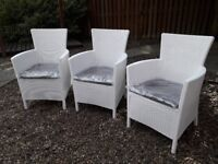 Allibert Iowa 3 Garden Chairs