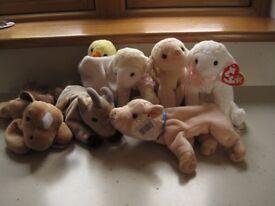 Ty Beanie Baby -farm animals