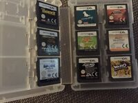 Selling a Nintendo 3ds xl, red in colour with 9 games