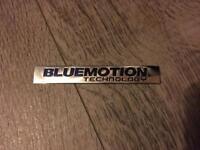 VW Bluemotion Badge
