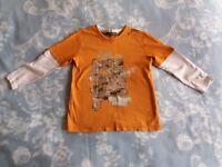 Long Sleeve Tee-Shirt Top Nearly New Boy 2-3 years