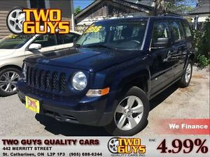 2014 Jeep Patriot 4wd 5SPD Alloys A/C Cruise Control