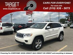 2011 Jeep Grand Cherokee Overland Fully Loaded Navi BAck up Came