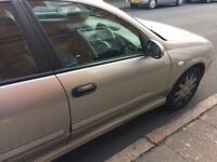 Nissan almera 55 reg less than 62.000 miles