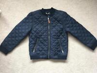 H&M Navy coat 6-7