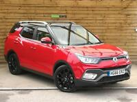 SsangYong Tivoli XLV 1.6 D ELX STYLE 5dr EX-DEMONSTRATOR (flaming red) 2017