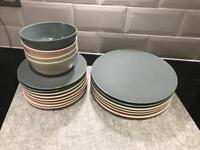 IKEA DINERA discontinued bowls plates and dinner plates