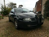 Alfa Romeo 147 2.0 Twin Spark Lusso Red Leather Interior