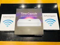 Apple Time Capsule 2Tb (a1355) and 2 x Airport Express (a1264) to extend WiFi or as AirPlay output