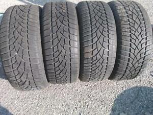P225/50R18X4 DUNLOP SP WINTER SPORT 99H USED ALMOST BRAND NEW FOR SALE