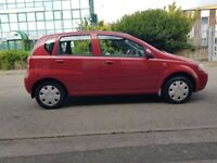 2004 Daewoo ( CHEVROLET) KALOS, 1.2 LITRE, PETROL. SERVICES HISTORY TO DATE, MOT TILL AUGUST 2019