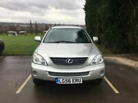 2006 (reg 56) LEXUS RX 400H HYBRID GREY ELECTRIC