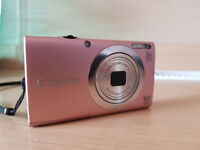 Pink Canon Portable Camera