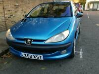 Peugeot 206 not 307 Automatic 1.4 Low Millage 41000 Ideal new car
