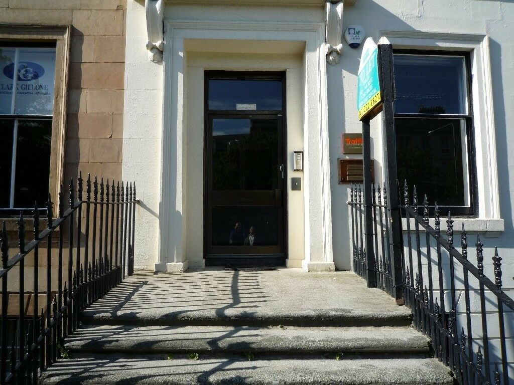 Office space to let, 235 to 1665 sq.ft. Somerset Place, Park, Glasgow, G3