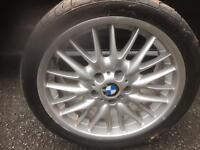BMW M-Sport alloy wheey