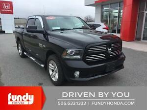 2014 RAM 1500 Sport LEATHER - NAV- AGGRISIVE TIRES - MUST SEE!