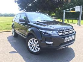 Land Rover Range Rover Evoque Sd4 Pure (black) 2014
