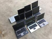 10 laptops for sale, all for parts