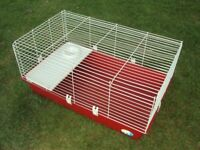 Large guinea pig /rabbit or other small animal hutch cage
