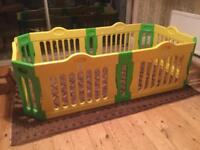 BABY VIVO Baby Child Playpen including extensions
