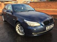 2008 BMW 520D SE, AUTO, M-SPORT ALLOYS, M.O.T NOV 2017
