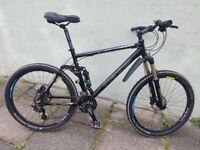 CB Boardman Comp FS full suspension mountain bike Large