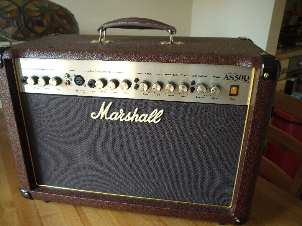 Marshall AS50D Acoustic amplifier  50 watt  Great name, great sound  Superb  condition  | in Newcastle, Tyne and Wear | Gumtree