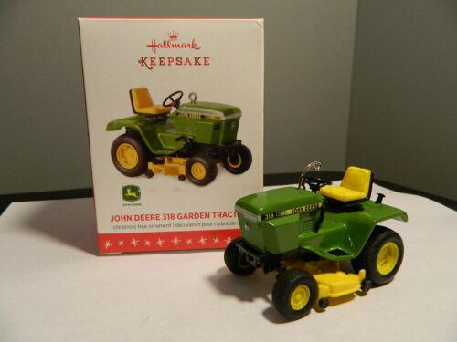 John Deere 318 Garden Tractor 2016 Hallmark Keepsake Ornament