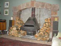 Wood Burner / Multifuel Stove - High Output Dowling MF Flamehugger