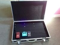 Pedalboard in hard case