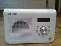 Pure Digital Radio, one classic, series 2. Used but in good condition