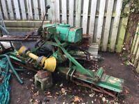 Ramson tripple cylinder mower