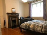 Massive double bedroom with Great Character near Oval Tube Station