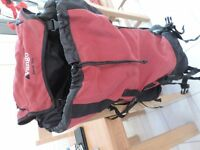 Vango Denali 70+ Backpack with Pacsafe mesh anti theft security lock