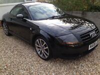 Black Audi TT Turbo 1.8 Low Mileage