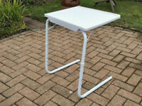 TWO VALET TABLES- IDEAL FOR A TABLE AT YOUR CHAIR