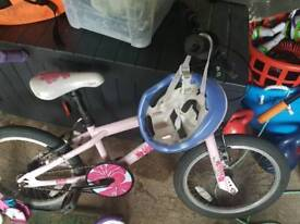 SOLD Girls bike & scooter