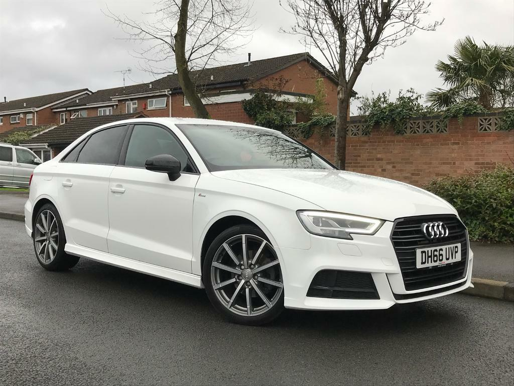 2017 66 audi a3 saloon 1 4 tfsi s line black edition in hall green west midlands gumtree. Black Bedroom Furniture Sets. Home Design Ideas