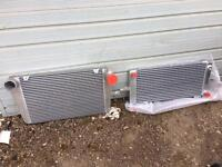 Sierra cosworth alloy radiator and RS500 intercooler