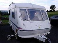 Elddis Whirlwind GT Caravan 2 Berth - 1995