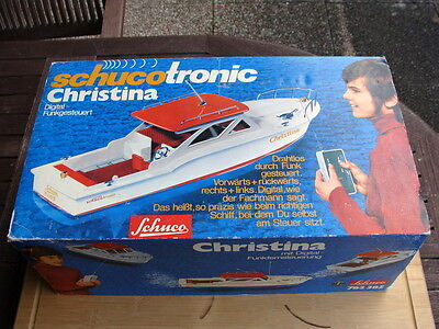 Schucotronic Christina Boot - RC Modell 1970er Rärität - Top in OVP !