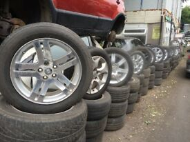 cheap alloy wheels for sale inc tyres - call 01902399912