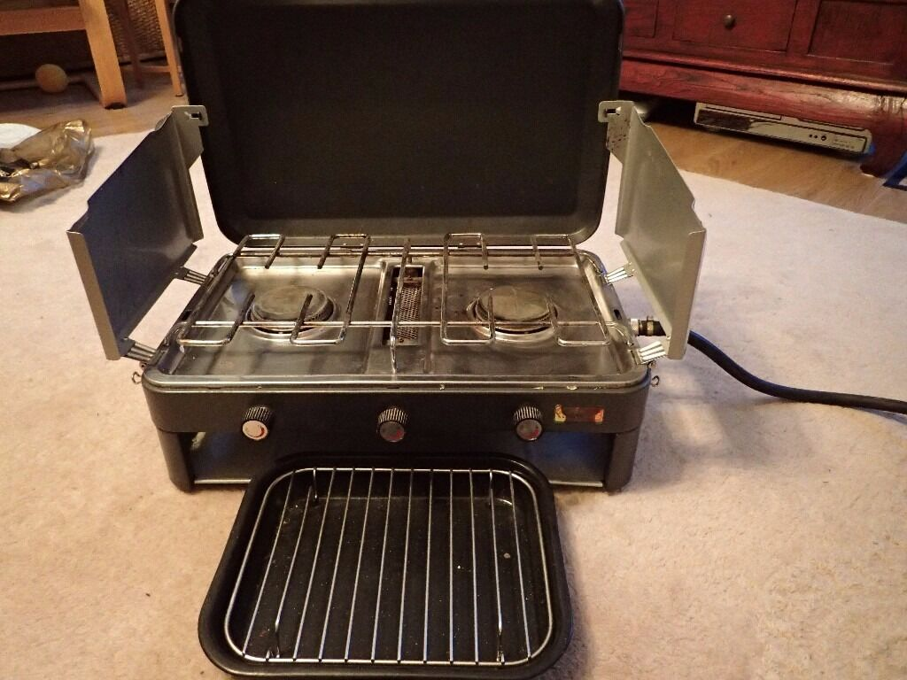 Sunngas camping stove with two rings and grill | in Inverness ...