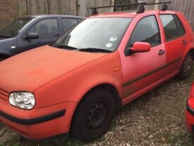 VW Golf MK 4 1.6 1998 for breaking. Many parts available