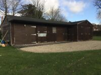 Large garage stable block, tack and shed store