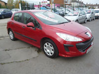 Peugeot 308 xe hdi,5 door hatchback,2 keys,full MOT,clean tidy car,runs and drives well,great mpg