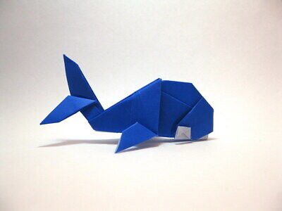Origami Paper Handmade Whale Gifts For Family Or Friends
