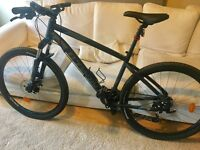Gents Mountain Bike - 4 weeks old - AS NEW - with receipt & extras